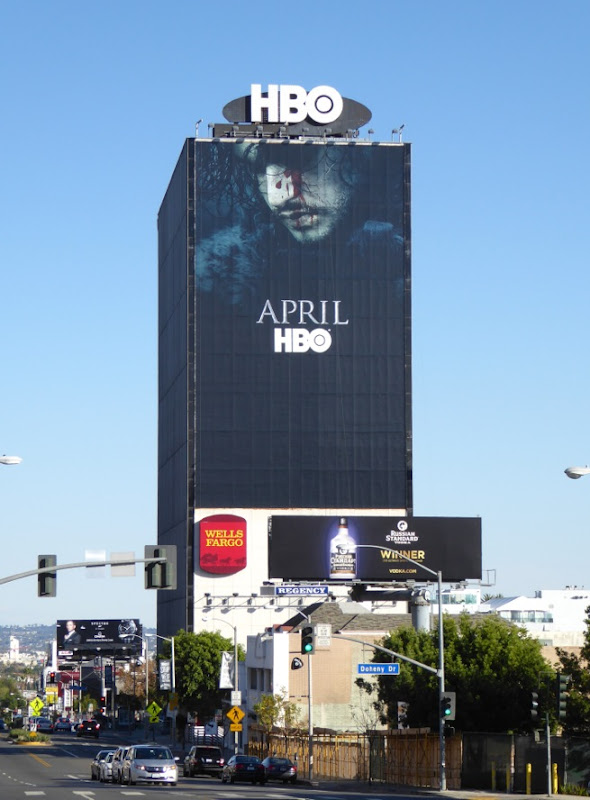 Giant Game of Thrones season 6 teaser billboard