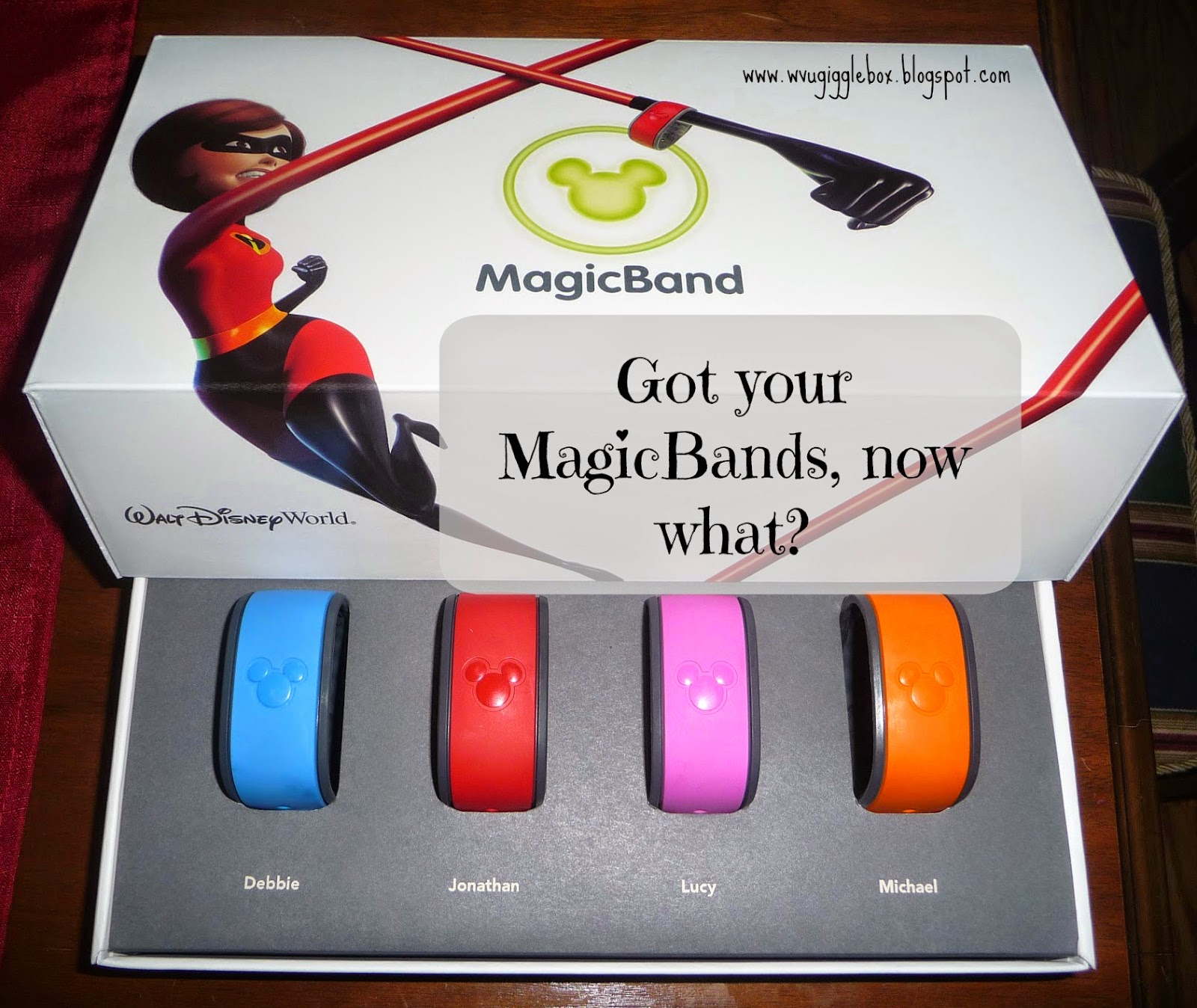 MagicBands, Walt Disney World, Disney Vacation,