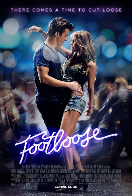 Footloose remake movie poster