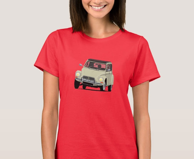 Vintage cars from Europe - Citroën Dyane T-shirt