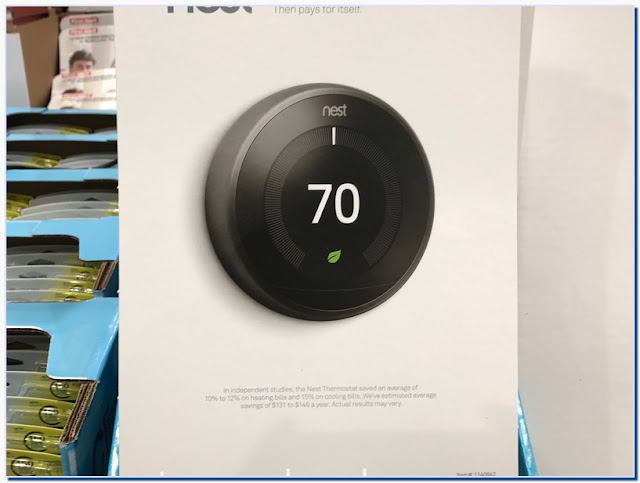 How much is the nest thermostat at Costco