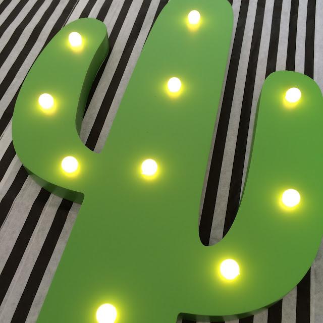 Five under £5, cactus light,  home bargains