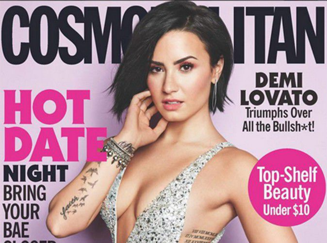 Its coverage of Cosmopolitan regarded as shocking, Demi Lovato responds!