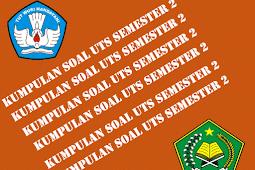 Download Soal UTS SD Kelas 1 2 3 4 5 6 Gratis