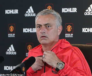 I Will Control, Respect Myself During Manchester United/Chelsea Match - Jose Mourinho