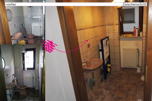sehnsuchtssachen vorher nachher in bad und wc. Black Bedroom Furniture Sets. Home Design Ideas