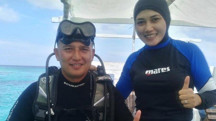 Istri Dandim Terhipnotis Cantik Alam Bawah Laut Selayar