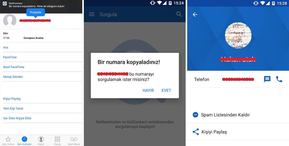 GetContact - Telefon Numarasından Yer ve Adres Bulma