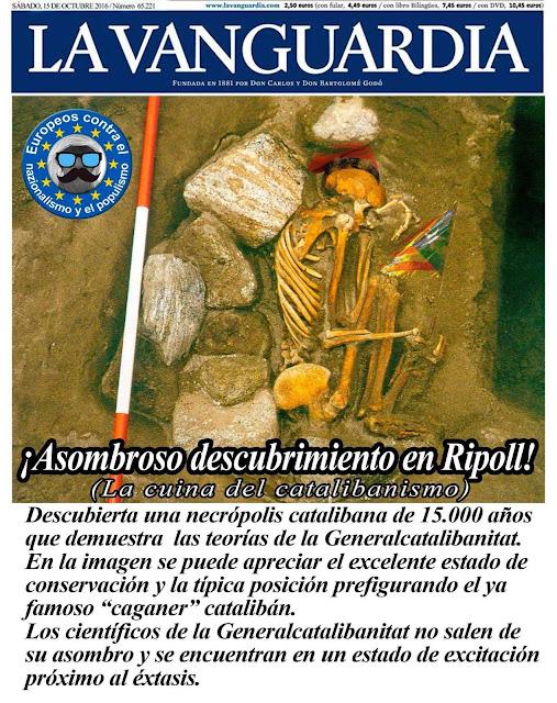 Ripoll, necrópolis catalibana, Generalcatalibanitat, caganer, catalibán,
