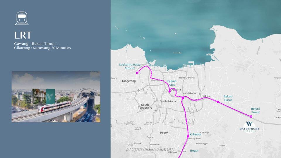 LRT Cawang - Bekasi / CIkarang - Karawang