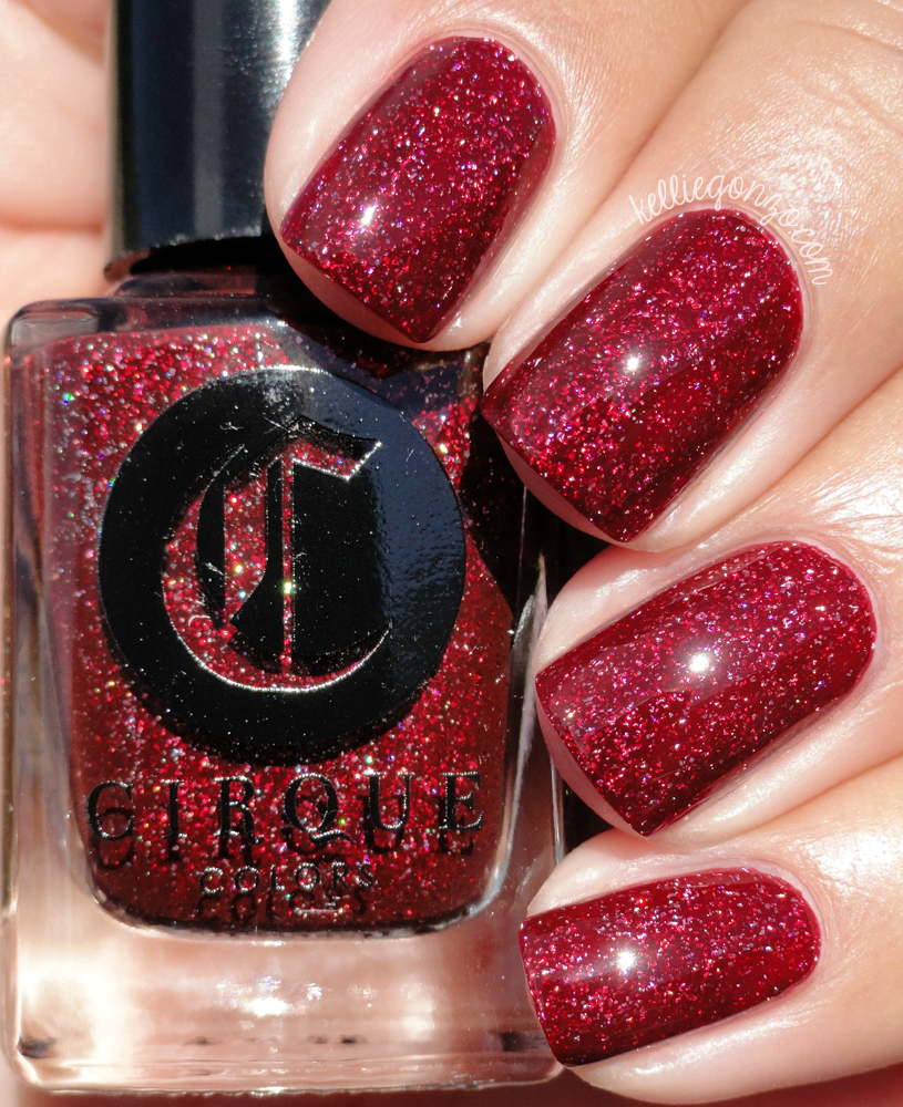 Cirque Colors Garnet