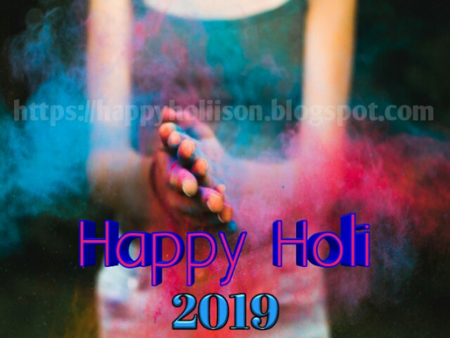 Holi Message 2019