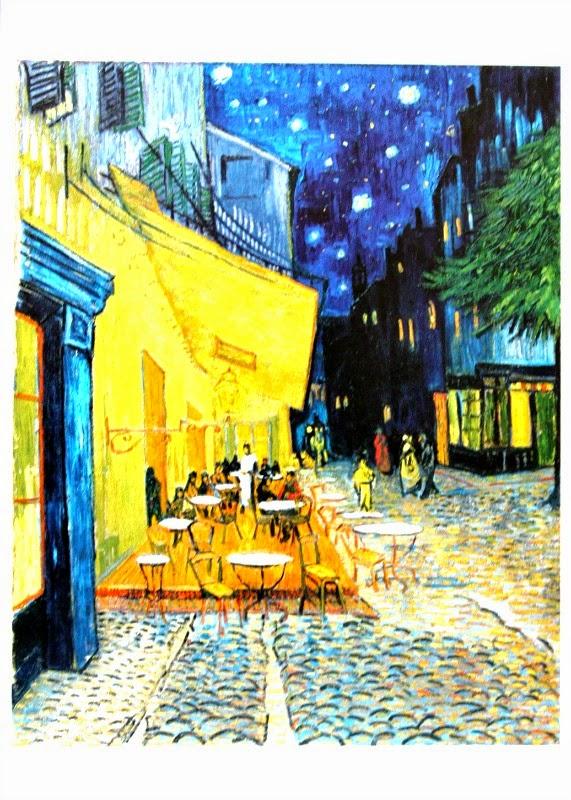Vincent van Gogh - Taras kawiarni w nocy