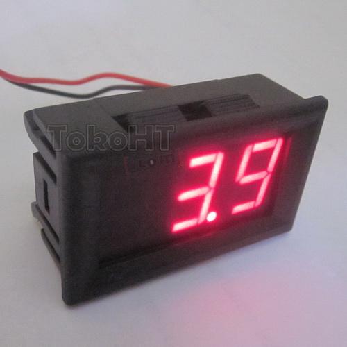Voltmeter Digital LED Merah   Toko HT KOMUNIKA