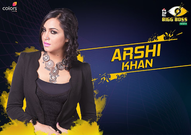 Arshi Khan (Bigg Boss 11 Contestant)