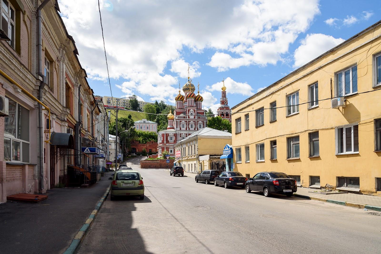 Городецкий переулок. Нижний Новгород. Фото