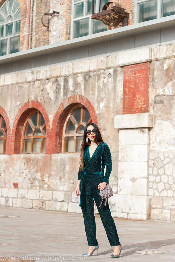 Ideas de blogger influencer para vestir en fiesta Navidad Reyes Nochevieja celebraciones look con estilo chic elegante moda