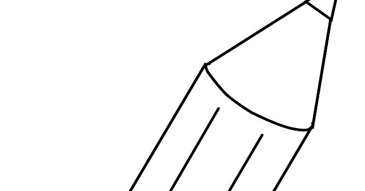 Gambar Mewarnai Pensil  Untuk Anak PAUD dan TK
