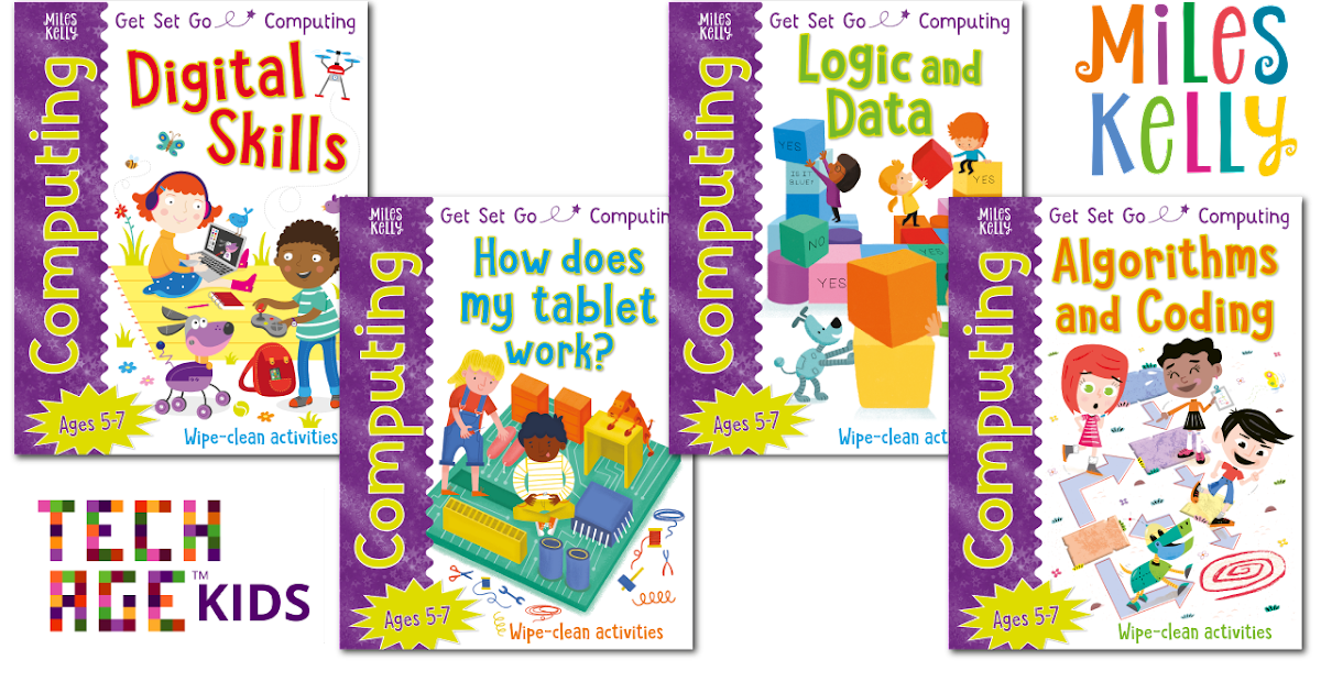 Miles Kelly Get Set Go Computing Books By Tech Age Kids Tech Age Kids Technology For Children