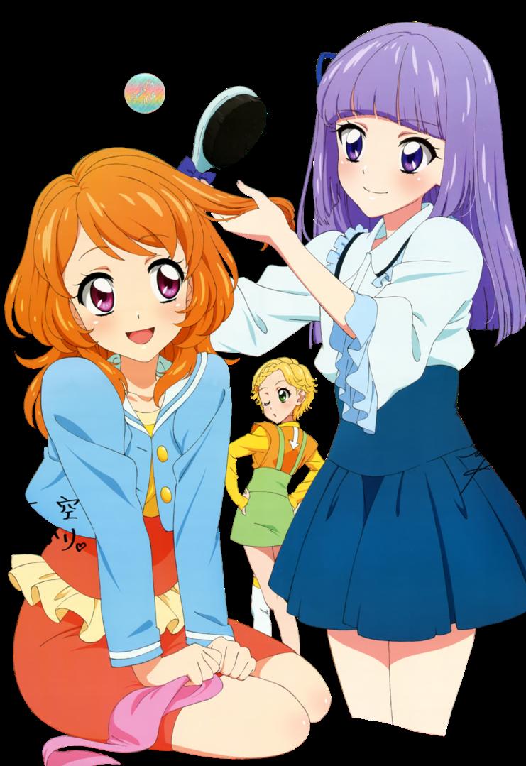 Render Akire + Sumire + Hinaki