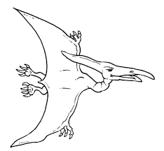 Baby Pterosaurs Coloring Pages Dinosaur