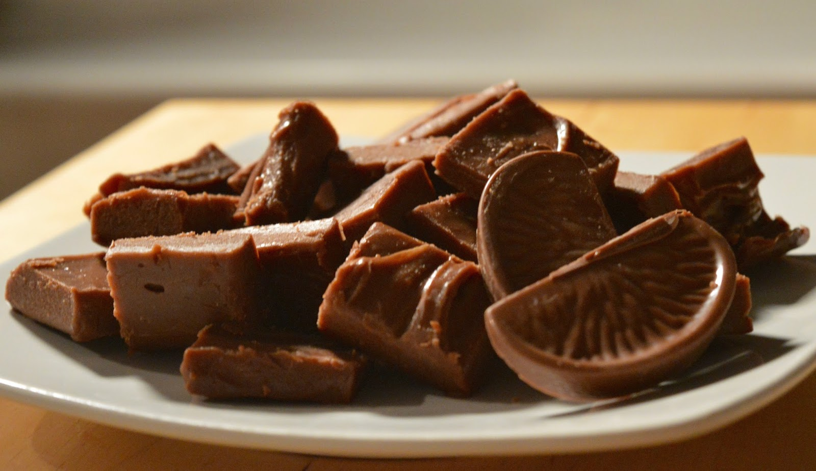 Terry's Chocolate Orange Slow Cooker Fudge Recipe - A Homemade & Edible Christmas Gift  - finished result
