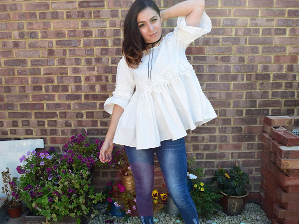 What Cat Wore | Lace & Denim