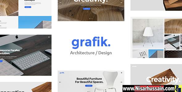 Grafik Premium Portfolio, Design & Architecture Theme