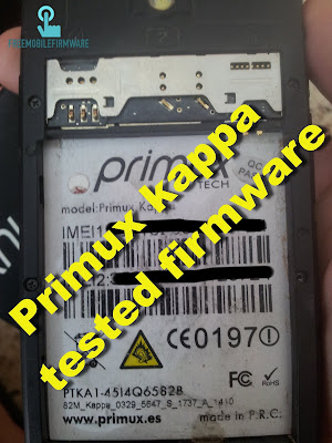 How To Flash Primux Kappa KitKat 4.4.2 Tested Firmware