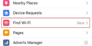 Wifi இருக்கும் இடத்தைக் காட்டிக்கொடுக்கும் பேஸ்புக்