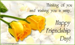 Friendship Day HD Greetings Card download