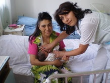Armenia woman gives birth to her 8th child