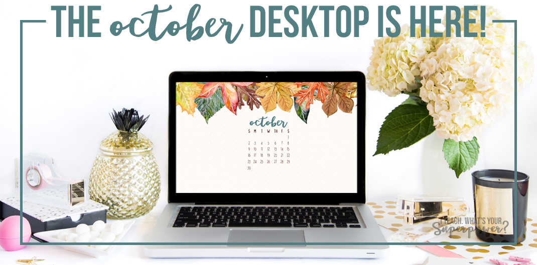 September 2016 Desktop Calendar Free Download