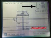 Jam Paper tidak ada kertas: kode jam 0A02 ir 6000