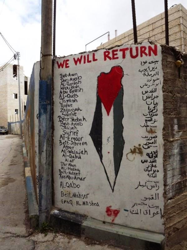Palestine, we will return