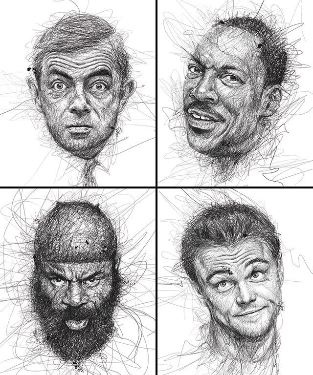 Vince Low, La Dislexia y El Arte del Garabato Mr. Bean Eddie Murphy Kimbo Leonardo DiCaprio