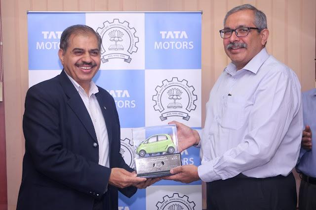 Tata Motors Partners With IIT Bombay