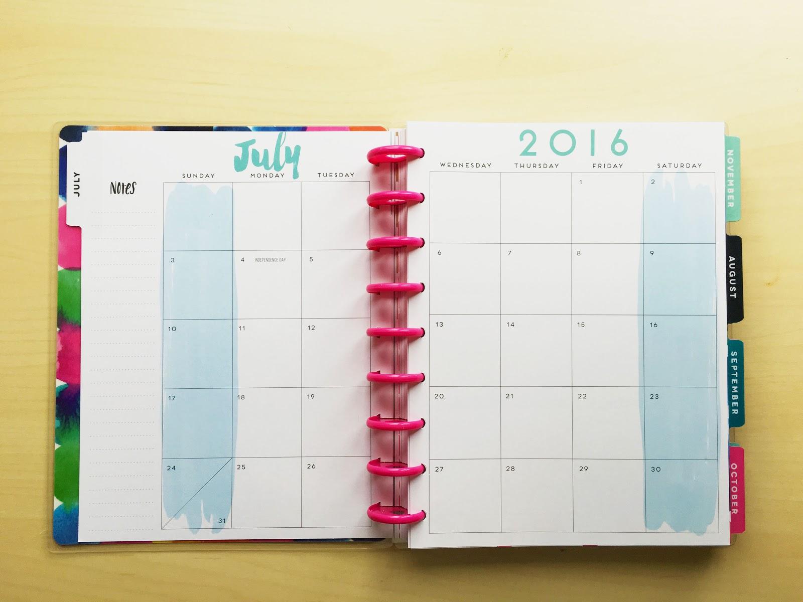 MAMBI Happy Planner 2016-2017 | Akinokiki