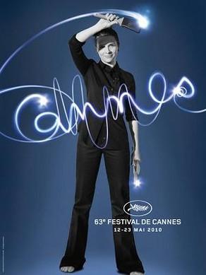 juliette binoche cannes poster