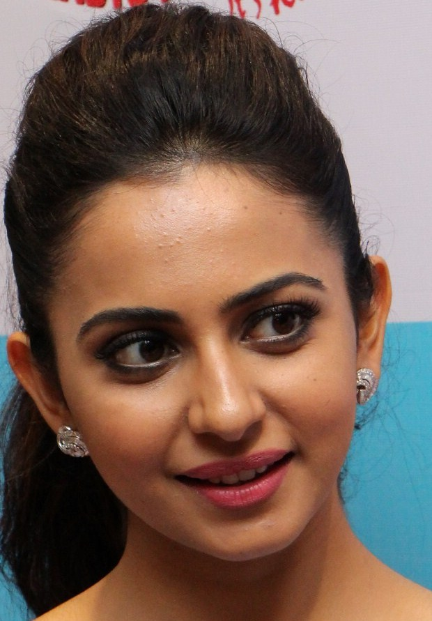 Actress Rakul Preet Singh Oily Face Close Up Stills