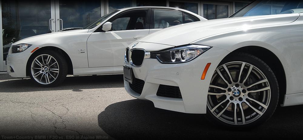 2013 Bmw 335i Xdrive >> Town+Country BMW   MINI Markham Blog: Visual Comparison