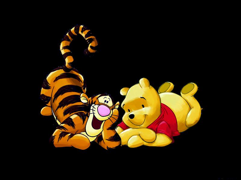 Ursinho Pooh E O Tigre Png Quero Imagem