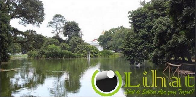 Danau Gunting belakang Istana Bogor