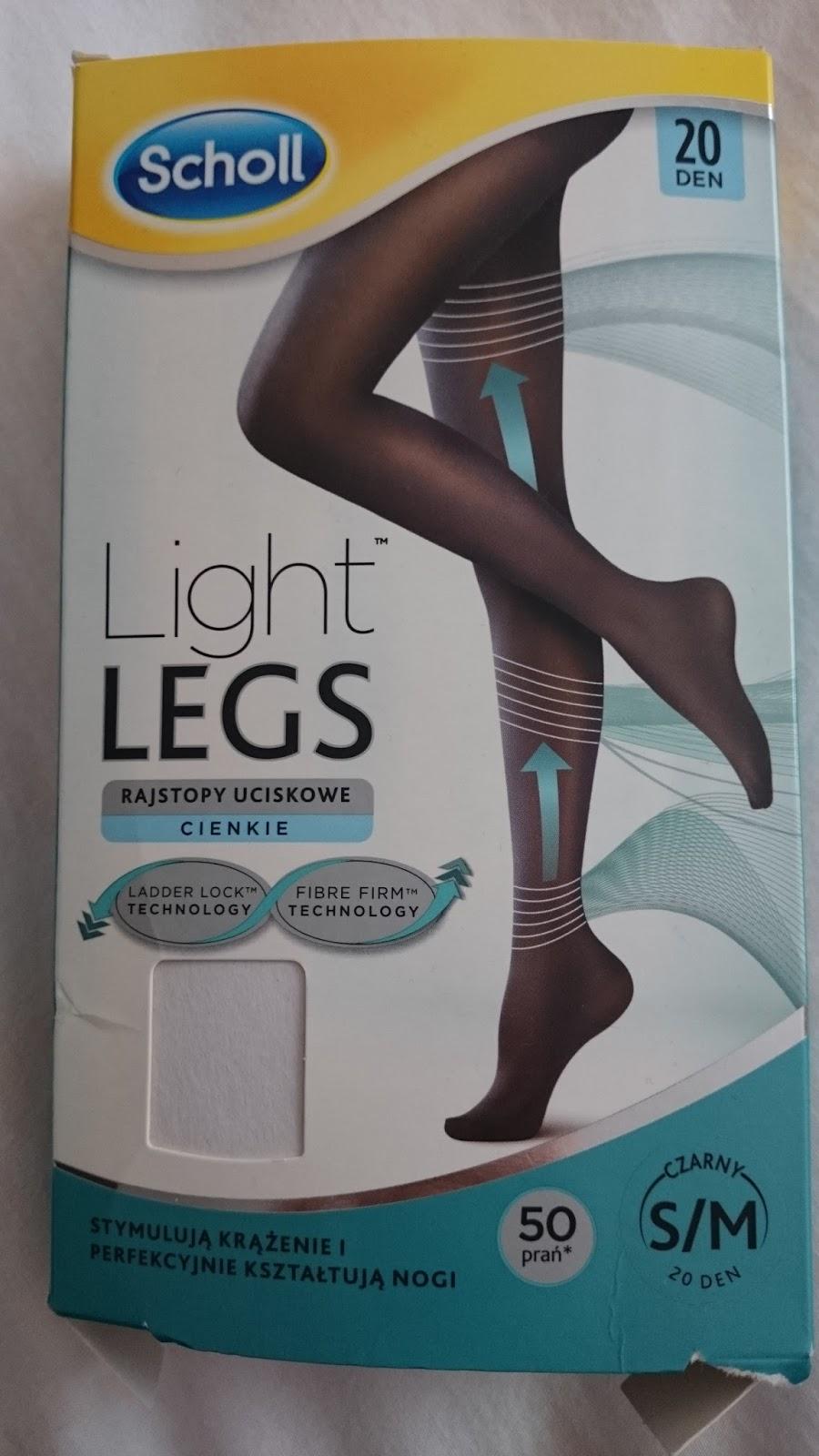 rasjtopy uciskowe scholl light legs