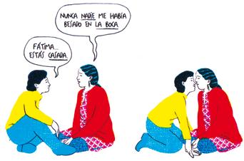 Un regalo para Kushbu historias que cruzan fronteras comic refugiados