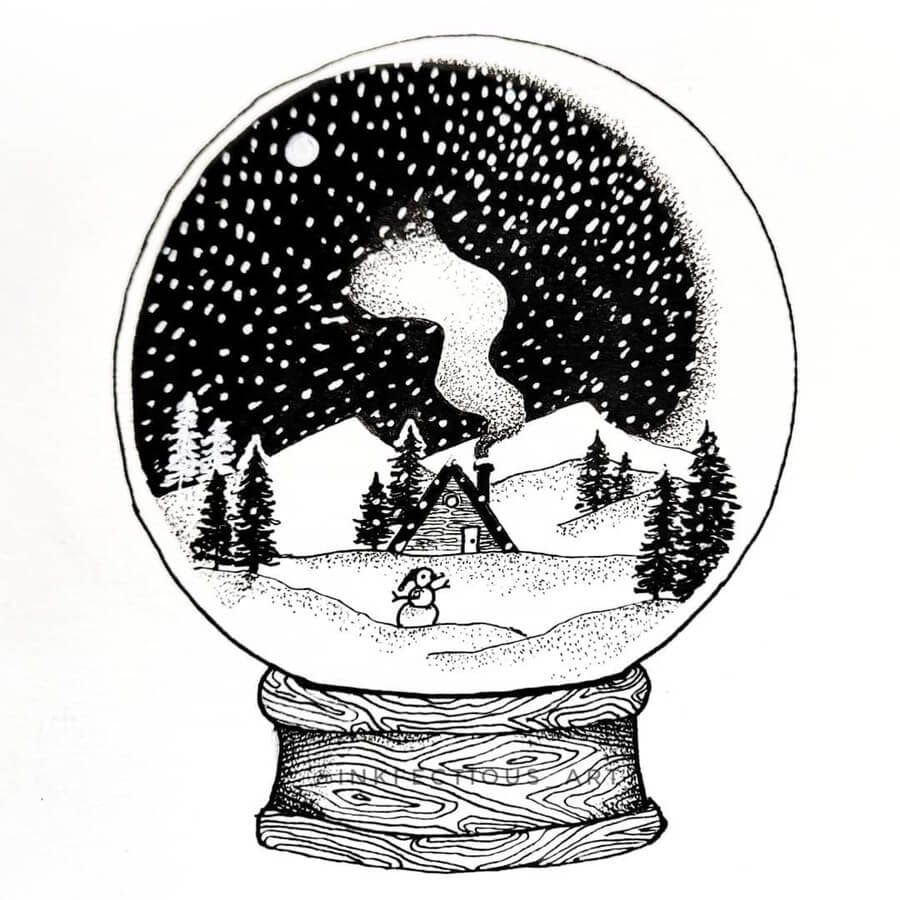 07-Snow-globe-Suravi-Sengupta-www-designstack-co