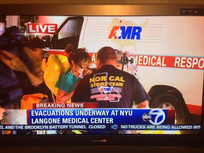 NYC : News & Analysis: NYU Langone Hospital Evacuated