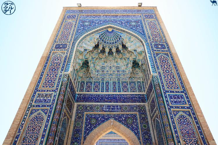 Le Chameau Bleu - Blog de Voyage Samarcande Ouzbékistan - Architecture Ouzbek