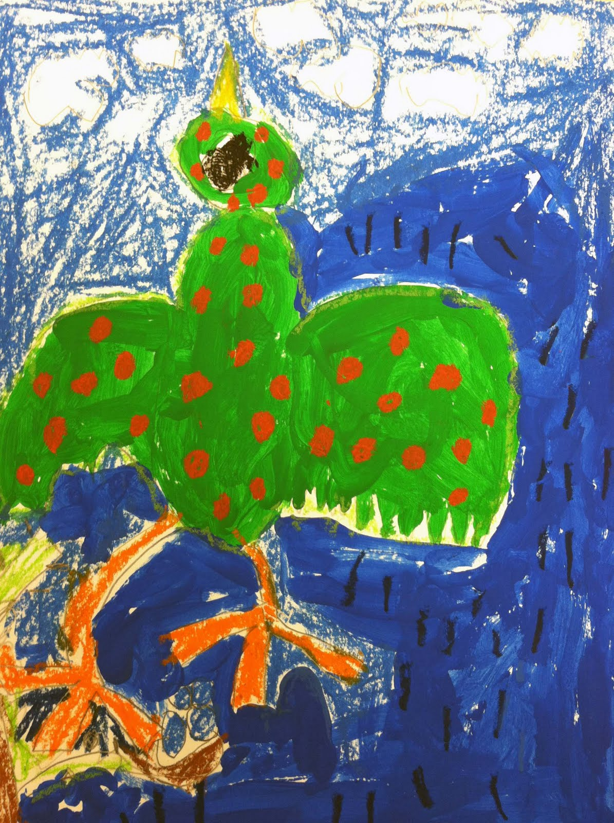 The Crayon Lab Folk Art First Grade