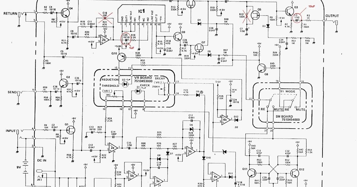guitar4geek: Boss Noise Supressor NS-2 or Behringer NR300 mods